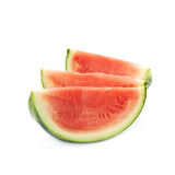 Couple watermelon slices isolated Royalty Free Stock Image