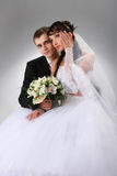 Couple wedding portrait Stock Photo