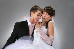 Couple wedding portrait Stock Photography
