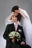 Couple wedding portrait Royalty Free Stock Photo
