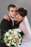 Couple wedding portrait Stock Images