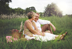 Couple Wife Husband Dating Relaxation Love Concept Royalty Free Stock Photos