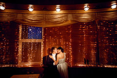 Couple by the window Royalty Free Stock Photography