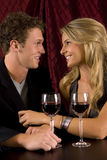 Couple wine Royalty Free Stock Photos