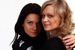 Couple women Royalty Free Stock Photo
