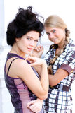 Couple women Royalty Free Stock Images