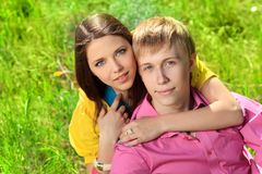 Couple young Royalty Free Stock Photo
