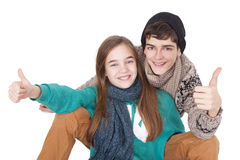 Couple of young Stock Images