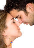 Couple of young lovers Stock Images