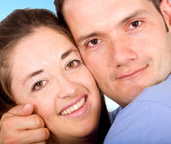 Couple of young lovers Royalty Free Stock Image