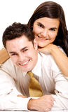 Couple of young lovers Stock Photography