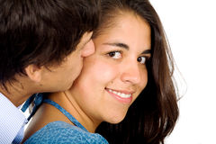Couple of young lovers Stock Photo