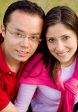 Couple of young lovers Stock Image