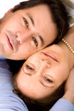 Couple of young lovers Royalty Free Stock Photography