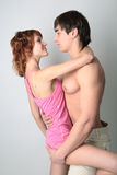 Couple young man and woman Royalty Free Stock Image