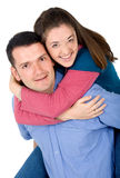 Couple of young people Stock Image