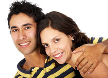 Couple of young people Stock Photography