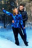 Clothes for winter Stock Image