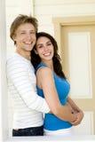 Couples à la maison Photographie stock