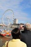 Couples à Londres Photo libre de droits