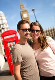 Couples à Londres Images libres de droits