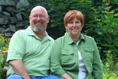 Couples âgés moyens Images stock
