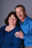 Couples âgés moyens. Image libre de droits