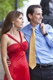 Couples âgés moyens romantiques d'homme et de femme Photo libre de droits