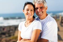 Couples âgés par milieu Photos stock