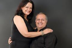 Couples âgés par milieu Image libre de droits