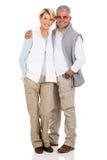 Couples âgés par milieu Images stock