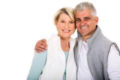 Couples âgés par milieu Photographie stock