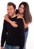 Couples éclatant de rire Images stock