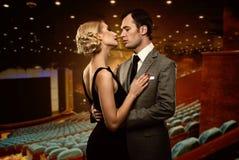 Couples élégants Images libres de droits