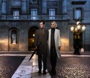 Couples élégants Photographie stock