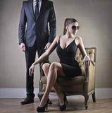 Couples élégants Photo stock