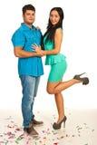 Couples élégants de partie Photo libre de droits