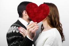 Couples élégants heureux dans l'amour Photographie stock libre de droits