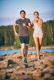 Couples énergiques Images stock