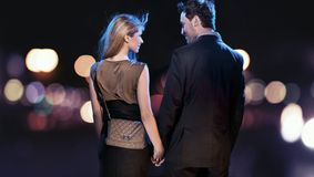 Couples étonnants Photos libres de droits