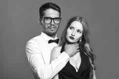 Couples étranges d'amour Photo stock