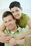 couples étreignant l'amour Images libres de droits
