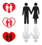 Couples Royalty Free Stock Images