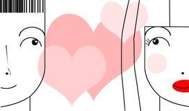 Couples ? Illustration Libre de Droits
