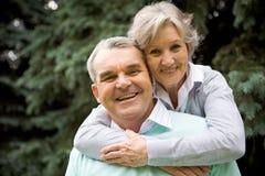 Couples aînés Images libres de droits