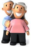 Couples aînés Photos stock