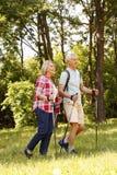Couples aînés actifs Images stock