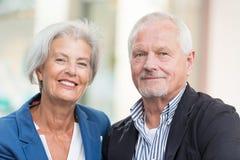 Couples aînés actifs Photos stock