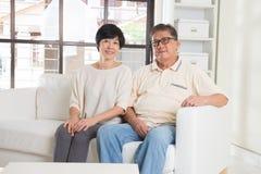 Couples aînés asiatiques Images stock