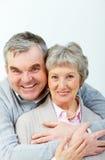 Couples aînés avec du charme Images libres de droits